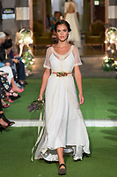 Model Alba Roman poses. <br /> Aurelia Gil Show During the Gran Canaria Bridal Fashion Week at Nestor Museum in Gran Canaria, Canary Island on October 8, 2017.