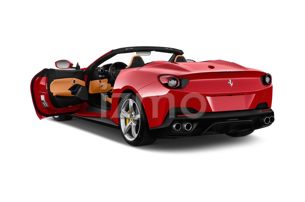 Car images close up view of a 2018 Ferrari Portofino base 2 Door Convertible doors