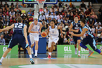 GB's Devan Bailey break forward during the EuroBasket 2015 2nd Qualifying Round Great Britain v Bosnia & Herzegovina (Euro Basket 2nd Qualifying Round) at Copper Box Arena in London. - 13/08/2014