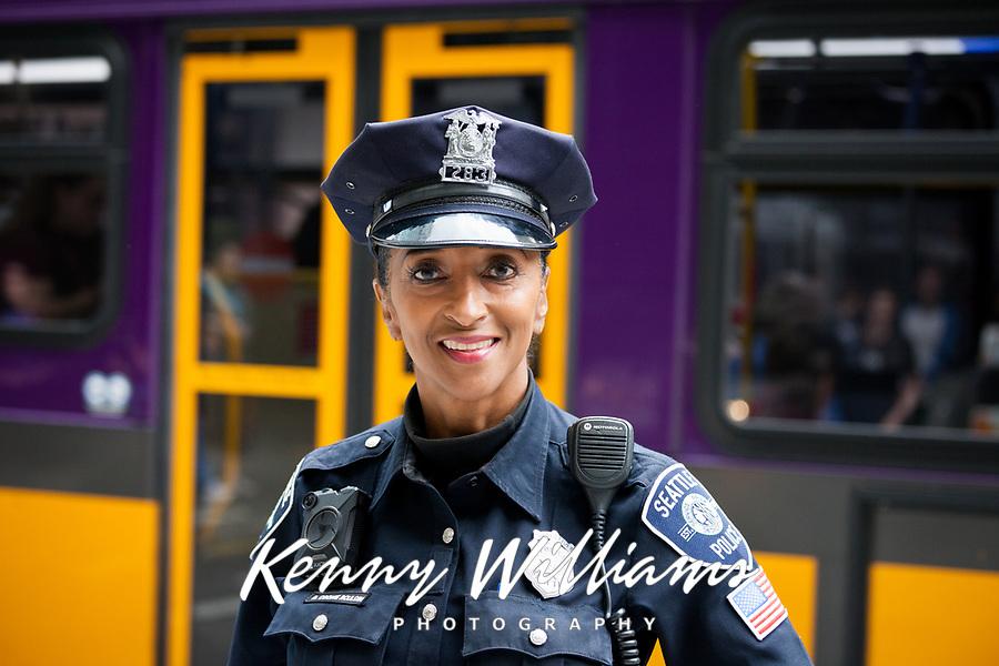 Police Woman, Pax West Seattle, WA, USA.