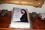 """LOS ANGELES - JAN 9: Sherry Lansing, Book Cover Cake at The Actors Fund's """"In The Spotlight"""" Living Room Salon Series launch with special guest Sherry Lansing at a private estate on January 9, 2018 in Beverly Hills, CA"""