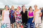 Enjoying Ladies Day at the Listowel Races on Friday were: Joanne O'Flaherty, Claire Molyneux, Deirdre McCarthy, Sheila O Connell, Theresa Dore, Sharon Quilter from Listowel