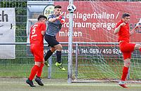 Faustabwehr Sinan Liberati (Büttelborn) - Büttelborn 15.05.2019: SKV Büttelborn vs. Kickers Offenbach, A-Junioren, Hessenpokal Halbfinale