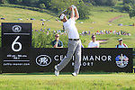 Sam Little teeing off on the 6th on day two of the Celtic Manor wales Open 2010.Picture Fran Caffrey/Newsfile.ie