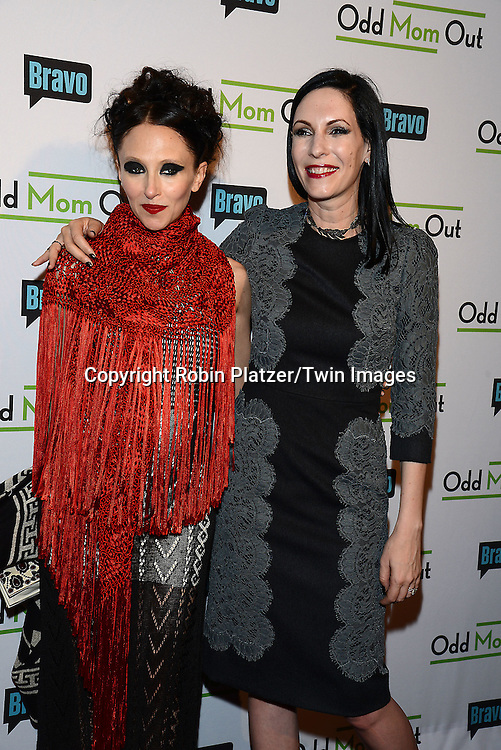 Stacey Bendet Eisner and Jill Kargman  attends the &quot;Odd Mom Out&quot; Screening, which is Bravo's first scripted half-hour comedy from Jill Kargman,  on June 3, 2015 at Florence Gould Hall in New York City, New York, USA.<br /> <br /> photo by Robin Platzer/Twin Images<br />  <br /> phone number 212-935-0770