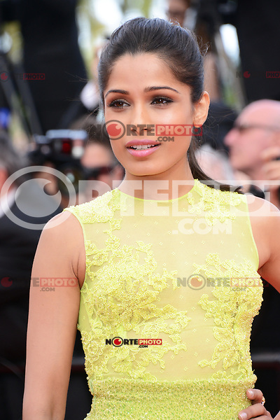 """Freida Pinto attending the """"De Rouille et D'os"""" Premiere during the 65th annual International Cannes Film Festival in Cannes, 17th May 2012...Credit: Timm/face to face /MediaPunch Inc. ***FOR USA ONLY***"""