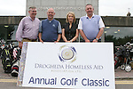 Gerry Fitzgerald, Treasurer Drogheda Homeless Aid, Charlie Allen, Karen Smyth, Director Drogheda Homeless Aid and Phillip Richardson at the Drogheda Homeless Aid Annual Golf Classic in Co.Louth Golf Club in Baltray...Photo NEWSFILE/Jenny Matthews.(Photo credit should read Jenny Matthews/NEWSFILE)....This Picture has been sent you under the condtions enclosed by:.Newsfile Ltd..The Studio,.Millmount Abbey,.Drogheda,.Co Meath..Ireland..Tel: +353(0)41-9871240.Fax: +353(0)41-9871260.GSM: +353(0)86-2500958.email: pictures@newsfile.ie.www.newsfile.ie.FTP: 193.120.102.198.