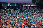 "28 April 2017: Washington Nationals fans display their ""K""s in the K Street Section each time the Nationals record a strikeout during a game the Washington Nationals at Nationals Park in Washington, DC. The Mets defeated the Nationals 7-5 to take the first game of their 3-game weekend series. Mandatory Credit: Ed Wolfstein Photo *** RAW (NEF) Image File Available ***"