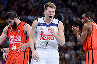 Real Madrid's Luka Doncic during Quarter Finals match of 2017 King's Cup at Fernando Buesa Arena in Vitoria, Spain. February 19, 2017. (ALTERPHOTOS/BorjaB.Hojas)