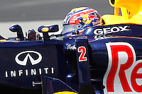 12.05.2012. Circuit de Catalunya, Montmeol, Spain, One the 3rd Practice Session. Picture show  Mark Webber (Australian driver of Red Bull)