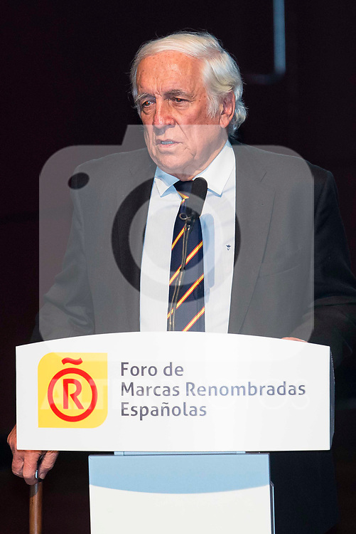 Carlos Espinosa de los Monteros during the delivery of the accreditations to the new ambassadors of the Marca España 2017 at Reina Sofia Museum in Madrid. March 14, 2017. (ALTERPHOTOS/Borja B.Hojas)