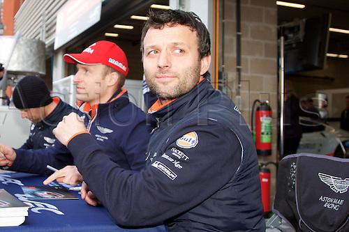 02.05.2015.  Spa-Francorchamps, Belgium. World Endurance Championship Round 2. Aston Martin factory driver Darren Turner.
