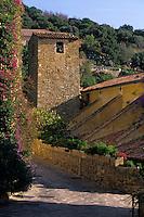 Europe/Provence-Alpes-Côte d'Azur/83/Var/Bormes-les-Mimosas: L'église Saint-Trophyme