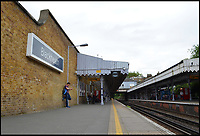 BNPS.co.uk (01202 558833)<br /> Pic: AllTheStations/BNPS<br /> <br /> Blackheath station.<br /> <br /> A pair of railway enthusiasts are on an epic train journey to become the first people to visit every station in Britain. <br /> <br /> Eccentrics Geoff Marshall, 44, and Vicki Pipe, 34, are three weeks into the adventure, which will see them visit 2,563 stations in just three months. <br /> <br /> The couple of seven years from London began in Penzance and have already visited 750 stations, covering the entire South, South West and much of London. <br /> <br /> After visiting an average of 30 stations per day their trip will conclude in August in Thurso, the British mainland's most northernmost town.