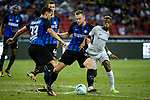 FC Internazionale Defender Milan Skriniar (C) battles for the ball with Chelsea Midfielder Charly Musonda (R) during the International Champions Cup 2017 match between FC Internazionale and Chelsea FC on July 29, 2017 in Singapore. Photo by Weixiang Lim / Power Sport Images