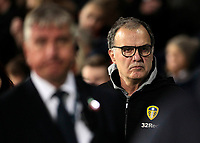 Leeds United manager Marcelo Bielsa looks on before kick off<br /> <br /> Photographer David Shipman/CameraSport<br /> <br /> The EFL Sky Bet Championship - West Bromwich Albion v Leeds United - Saturday 10th November 2018 - The Hawthorns - West Bromwich<br /> <br /> World Copyright &copy; 2018 CameraSport. All rights reserved. 43 Linden Ave. Countesthorpe. Leicester. England. LE8 5PG - Tel: +44 (0) 116 277 4147 - admin@camerasport.com - www.camerasport.com