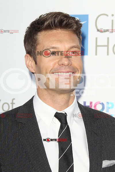 Ryan Seacrest at the 2012 City of Hope Gala honoring Bob Pittman with the Spirit of Life Award at The Geffen Contemporary at MOCA. Los Angeles, California. JUne 12, 2012.  © mpi28/MediaPunch Inc. NORTEPHOTO.COM<br />