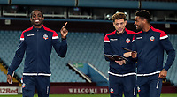 Bolton Wanderers' Clayton Donaldson, Yanic Wildschut and Mark Little <br /> <br /> Photographer Andrew Kearns/CameraSport<br /> <br /> The EFL Sky Bet Championship - Aston Villa v Bolton Wanderers - Friday 2nd November 2018 - Villa Park - Birmingham<br /> <br /> World Copyright &copy; 2018 CameraSport. All rights reserved. 43 Linden Ave. Countesthorpe. Leicester. England. LE8 5PG - Tel: +44 (0) 116 277 4147 - admin@camerasport.com - www.camerasport.com