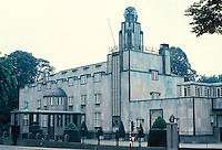 Josef Hoffman: Palais Stoclet, Brussels, 1908-1911. 279 Avenue de Tervueren, Woluwe-Saint-Pierre. Art Deco. Photo '87.