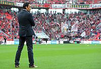 FUSSBALL   1. BUNDESLIGA   SAISON 2011/2012    4. SPIELTAG Bayer 04 Leverkusen - Borussia Dortmund              27.08.2011 Trainer Robin DUTT (Bayer 04 Leverkusen)