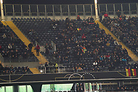 Leere Ränge in der Commerzbank Arena - 19.11.2019: Deutschland vs. Nordirland, Commerzbank Arena Frankfurt, EM-Qualifikation DISCLAIMER: DFB regulations prohibit any use of photographs as image sequences and/or quasi-video.