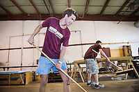 Service DAWGS Day volunteers at Ability Works<br />  (photo by Megan Bean / &copy; Mississippi State University)