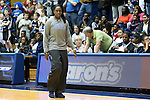 22 February 2013: Duke's Chelsea Gray walks the court before the game, the first game after suffering a season ending knee injury. The Duke University Blue Devils played the Florida State University Seminoles at Cameron Indoor Stadium in Durham, North Carolina in a 2012-2013 NCAA Division I and Atlantic Coast Conference women's college basketball game. Duke won the game 61-50.