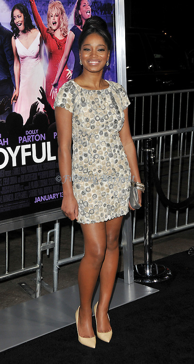 Keke Palmer at the premiere of Joyful Noise held at Grauman's  Chinese Theatre in Hollywood, CA. January 9, 2012