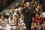 LAS VEGAS, NV - MARCH 7:  Randy Bennett during the Saint Mary's Gaels 69-55 win over the Portland Pilots in the WCC Basketball Tournament on March 7, 2010 at Orleans Arena in Las Vegas Nevada.