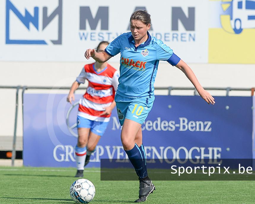 Famkes Westhoek Merkem Diksmuide - Club Brugge Dames A :  Sofie Huyghebaert<br /> Foto David Catry | VDB | Bart Vandenbroucke