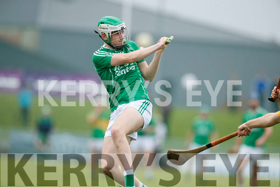 Jack O'Sullivan Ballyduff in action against  Lixnaw in the Senior County Hurling Final in Austin Stack Park on Sunday