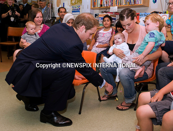 "PRINCE WILLIAM.visited the children's ward of  Wellington Regional Hospital of the final day of his official tour to New Zealand, before departing for Australia..The Prince was greeted by Sam Jackson a Kaumatua (Maori Elder) and Prime Minister John Key. He received a warm greeting from members of the public when he did a walkabout, Wellington, New Zealand_19/01/2010 .Mandatory Credit Photo: ©DIAS-NEWSPIX INTERNATIONAL..**ALL FEES PAYABLE TO: ""NEWSPIX INTERNATIONAL""**..IMMEDIATE CONFIRMATION OF USAGE REQUIRED:.Newspix International, 31 Chinnery Hill, Bishop's Stortford, ENGLAND CM23 3PS.Tel:+441279 324672  ; Fax: +441279656877.Mobile:  07775681153.e-mail: info@newspixinternational.co.uk"