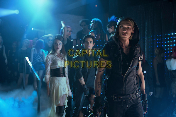 Jemina West, Kevin Zegers, Jamie Campbell Bower.in The Mortal Instruments: City of Bones (2013) .*Filmstill - Editorial Use Only*.CAP/NFS.Supplied by Capital Pictures.