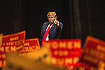 Republican presidential nominee Donald Trump holds  rally at The Venetian Las Vegas October 30, 2016 in Las Vegas, Nevada.