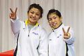 (L to R) Kaori Icho (JPN), Saori Yoshida, December 23, 2011 - Wrestling : All Japan Wrestling Championship at 2nd Yoyogi Gymnasium, Tokyo, Japan. (Photo by Daiju Kitamura/AFLO SPORT) [1045]