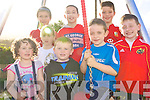 Playing at Camp Playground which was officially opened on Friday last. .Front L-R Sive Hanley, Oisin Gallagher, Donal Crean, Dara Gallagher.Back L-R Ciara Butler, Sean O'Hara, Aran Deeley, Da?ire Kennelly
