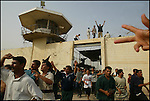 THE AMNESTY AT THE NOTORIOUS ABU GHRAIB PRISON ON THE OUTSKIRTS OF BAGHDAD.