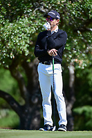 Camilo Villegas (COL) waits to tee off on 2 during round 4 of the Valero Texas Open, AT&amp;T Oaks Course, TPC San Antonio, San Antonio, Texas, USA. 4/23/2017.<br /> Picture: Golffile | Ken Murray<br /> <br /> <br /> All photo usage must carry mandatory copyright credit (&copy; Golffile | Ken Murray)