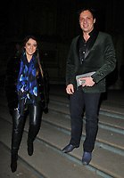 Ella Jade Bitton and guest at the &quot;The Adoration Trilogy: Searching For Apollo&quot; by Alistair Morrison opening gala, Victoria &amp; Albert Museum, Cromwell Road, London, England, UK, on Monday 13 November 2017.<br /> CAP/CAN<br /> &copy;CAN/Capital Pictures