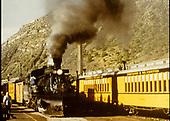 D&amp;RGW #481 K-36 at Durango.<br /> D&amp;RGW  Durango, CO