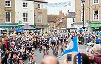 Picture by Allan McKenzie SWpix.com - 03/05/2018 - Cycling - 2018 Tour de Yorkshire - Stage 1: Beverley to Doncaster - The peloton comes through Pocklington, Ian Stannard.