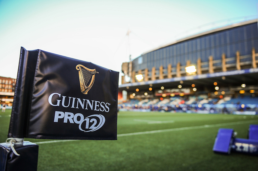 A general view of BT Sport Cardiff Arms Park, home of Cardiff Blues<br /> <br /> Photographer Craig Thomas/CameraSport<br /> <br /> Guinness PRO12 Round 3 - Cardiff Blues v Glasgow Warriors - Friday 16th September 2016 - Cardiff Arms Park - Cardiff<br /> <br /> World Copyright &copy; 2016 CameraSport. All rights reserved. 43 Linden Ave. Countesthorpe. Leicester. England. LE8 5PG - Tel: +44 (0) 116 277 4147 - admin@camerasport.com - www.camerasport.com