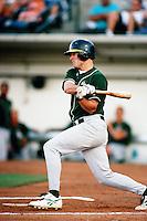 Jacques Landry of the Modesto A's during a California League baseball game circa 1999. (Larry Goren/Four Seam Images)