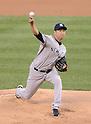 Hiroki Kuroda (Yankees),.MAY 7, 2013 - MLB :.Hiroki Kuroda of the New York Yankees pitches during the baseball game against the Colorado Rockies at Coors Field in Denver, Colorado, United States. (Photo by AFLO)
