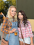 Kellie Sherwin and Leanne Caffrey at the charity barn dance in Cushinstown Athletic Club. Photo:Colin Bell/pressphotos.ie