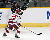 Josh Wilkins (PC - 15), Nathan Krusko (Harvard - 13) - The Harvard University Crimson defeated the Providence College Friars 3-0 in their NCAA East regional semi-final on Friday, March 24, 2017, at Dunkin' Donuts Center in Providence, Rhode Island.