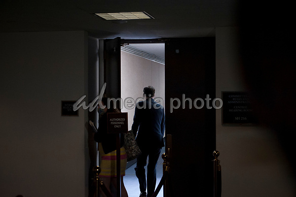 United States Senator Mitt Romney (Republican of Utah) arrives for the GOP luncheon in the Hart Senate Office Building on Capitol Hill in Washington, DC., Tuesday, June 16, 2020. <br /> Credit: Rod Lamkey / CNP/AdMedia