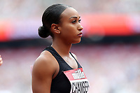 Kendra Chambers of USA competes in the womenís 800 metres during the Muller Anniversary Games at The London Stadium on 9th July 2017
