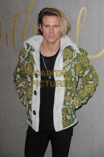 LONDON, ENGLAND - NOVEMBER 3: Dougie Poynter attends the Burberry Festive Film Premiere at Burberry Regent Street on November 3, 2015 in London, England.<br /> CAP/BEL<br /> &copy;BEL/Capital Pictures
