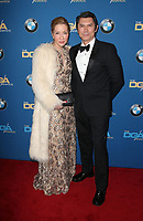 BEVERLY HILLS, CA - FEBRUARY 3: Yvonne Phillips and Lou Diamond Phillips at the 70th Annual Directors Guild of America Awards (DGA, DGAs), at The Beverly Hilton Hotel in Beverly Hills, California on February 3, 2018.  <br /> CAP/MPI/FS<br /> &copy;FS/Capital Pictures
